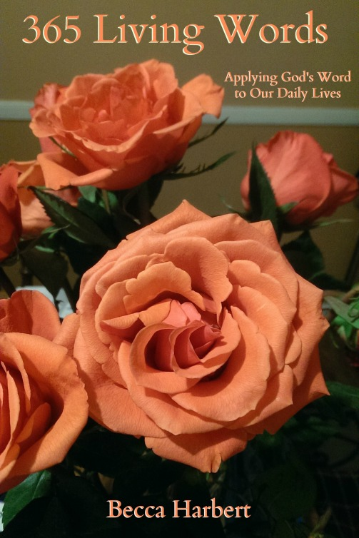 365 Living Words cover flowers